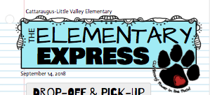 ELEMENTARY EXPRESS NEWSLETTER